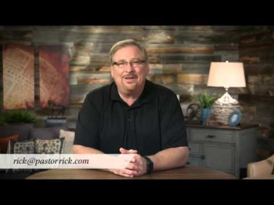 Rick Warren's message for those considering suicide