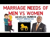 WHY MEN NEED SEX BUT WOMEN DON'T by Dr Myles Munroe (Animated)